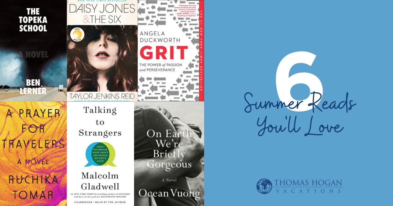 summer reads - thomas hogan travel - myrtle beach, sc
